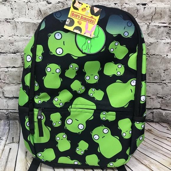 Marvelous Bob Burger Kuchi Kopi Allover Backpack Book Bag Boutique Lamtechconsult Wood Chair Design Ideas Lamtechconsultcom